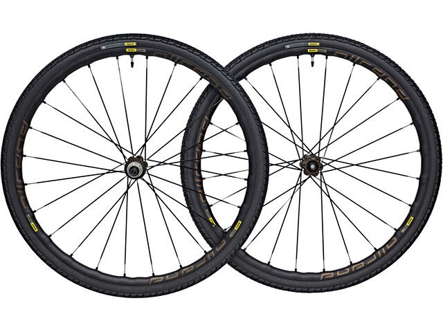 Mavic Allroad Elite Wheelset 700x40c disc 6-hole 12x142mm black
